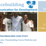 Technical Support – C4D & Peace (UNICEF, 2015)